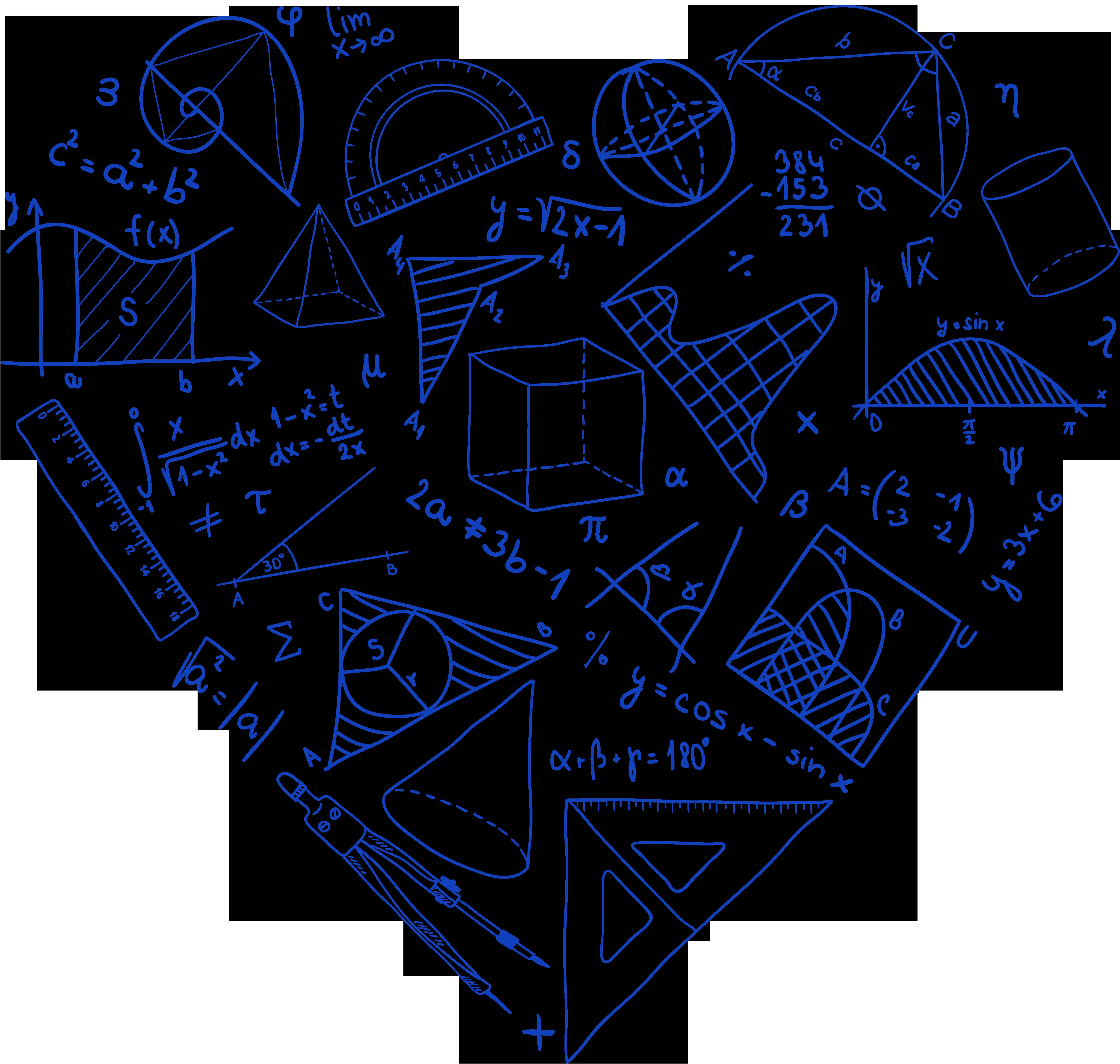 Колокольчик, красивые математические картинки
